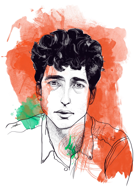 Bob Dylan - Serie Iconos Pop