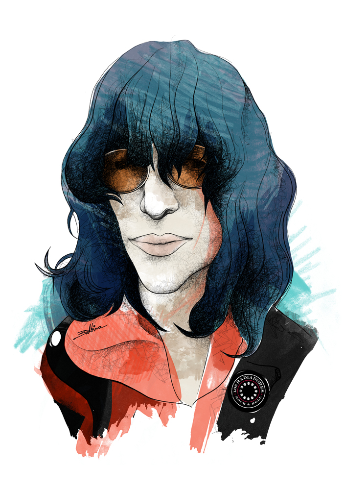 Joey Ramone _ Serie Iconos Pop